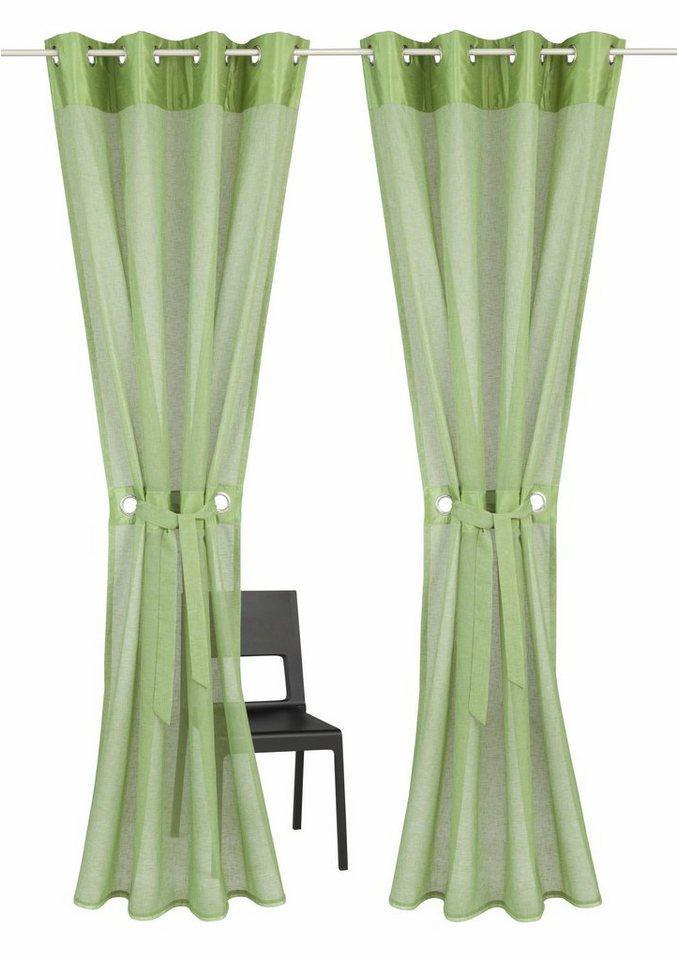 gardine willowa home affaire sen 2 st ck inkl. Black Bedroom Furniture Sets. Home Design Ideas