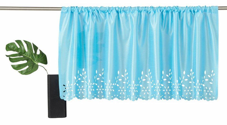 scheibengardine home affaire collection neapel mit stangendurchzug 1 st ck online kaufen. Black Bedroom Furniture Sets. Home Design Ideas