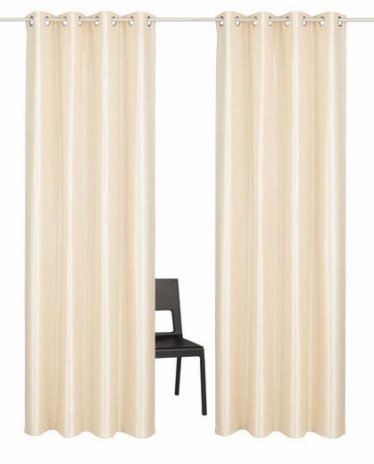 Vorhang »Glow«, Guido Maria Kretschmer Home&Living, Ösen (2 Stück)