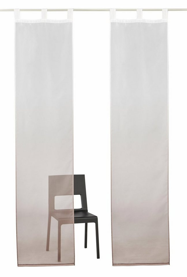 schiebegardine fada my home schlaufen 2 st ck inkl. Black Bedroom Furniture Sets. Home Design Ideas