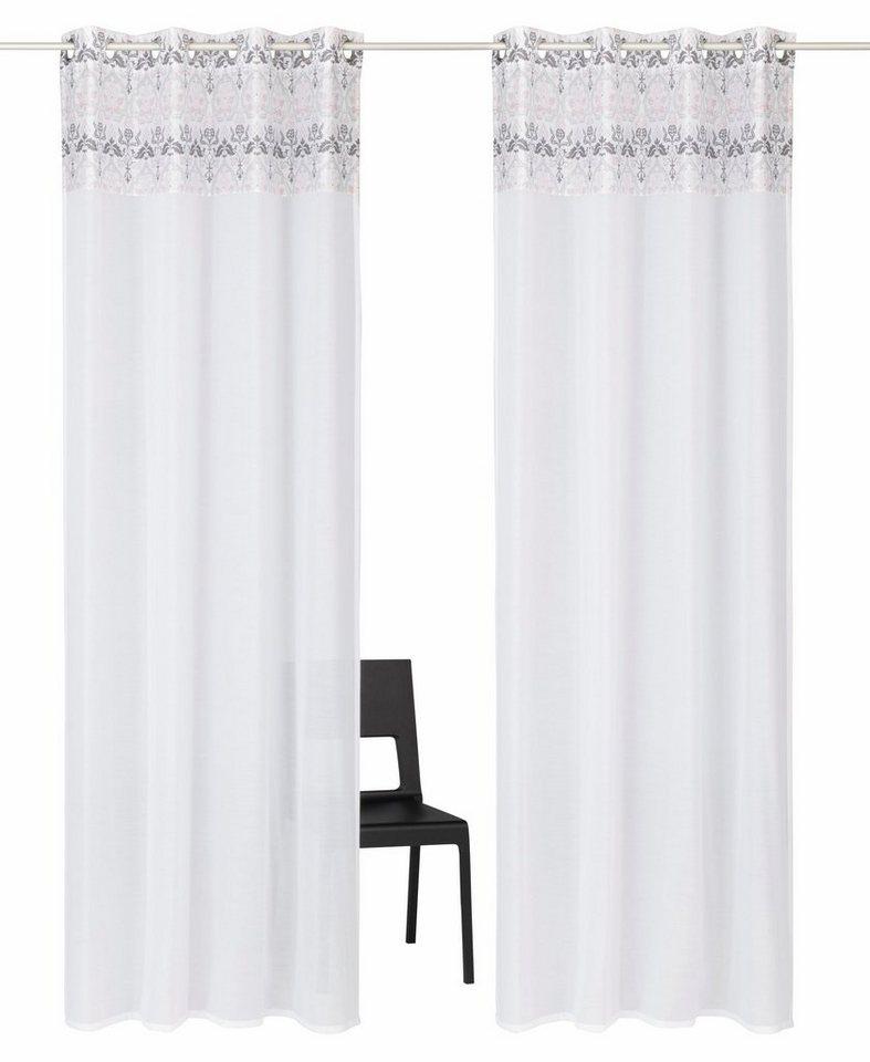gardine cremona home affaire collection sen 2 st ck online kaufen otto. Black Bedroom Furniture Sets. Home Design Ideas
