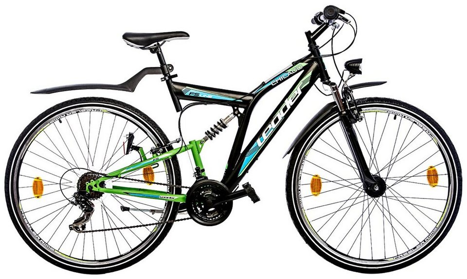 leader mountainbike chicago 28 zoll 21 gang. Black Bedroom Furniture Sets. Home Design Ideas