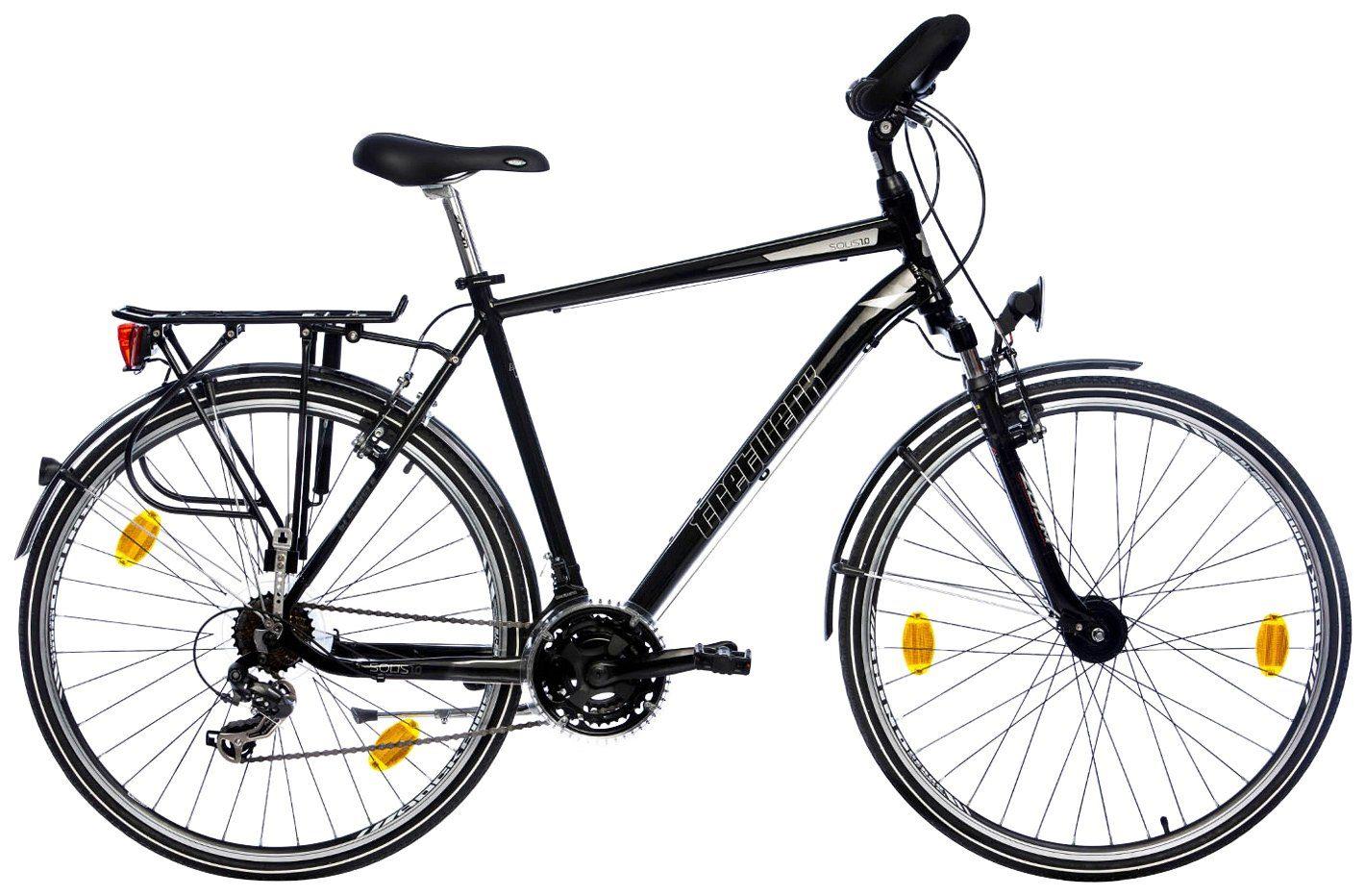 TRETWERK Trekkingrad Herren »Solis 1.0 Comfort«, 28 Zoll, 21 Gang, Felgenbremsen
