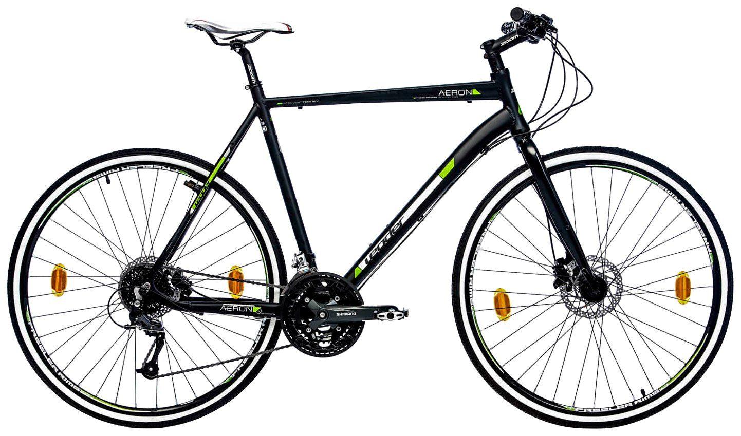 LEADER Crossbike »Aeron 2.0 «, 28 Zoll, 24 Gang, Scheibenbremsen