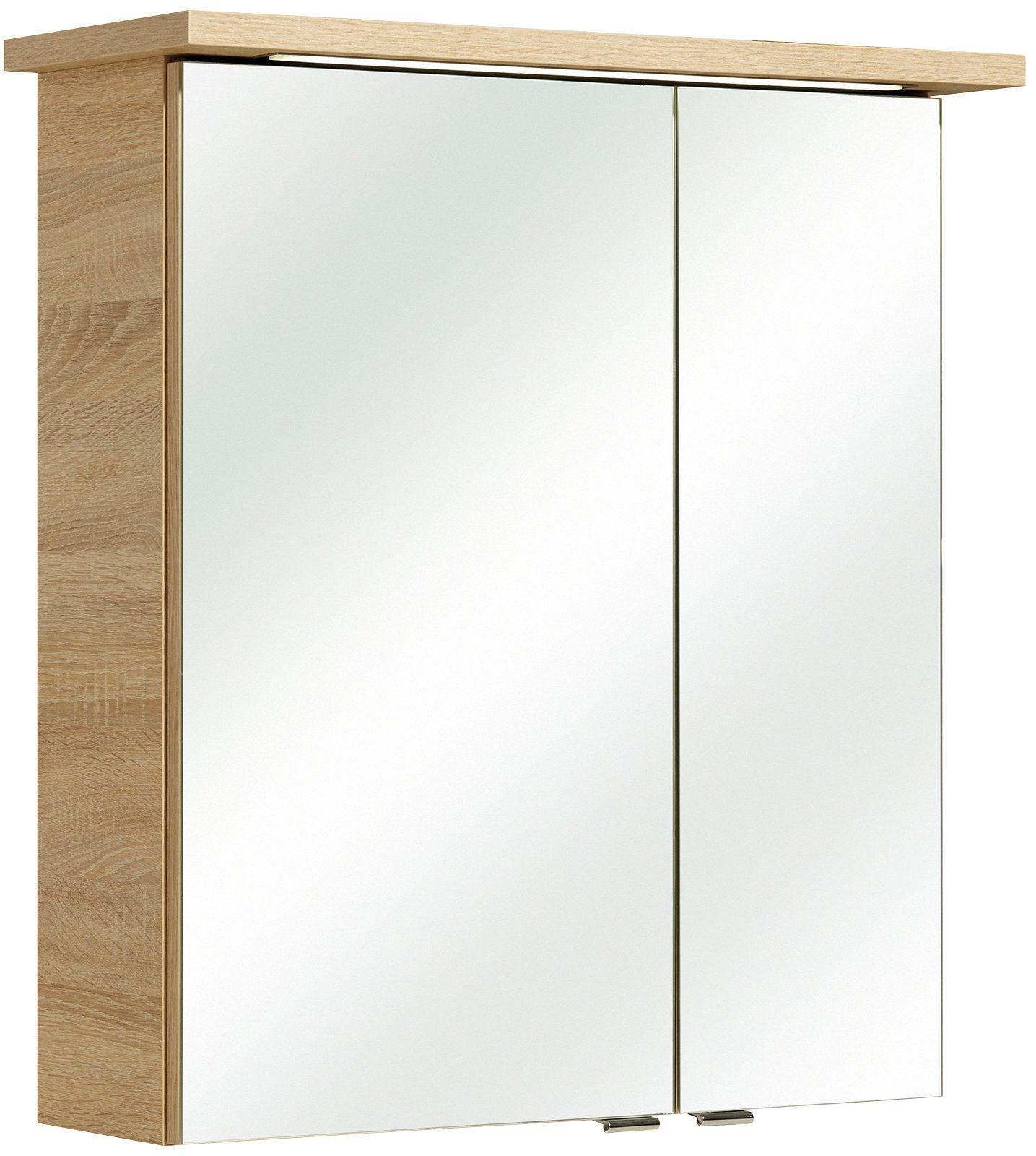 PELIPAL Spiegelschrank »Selva«, LED, Breite 60 cm