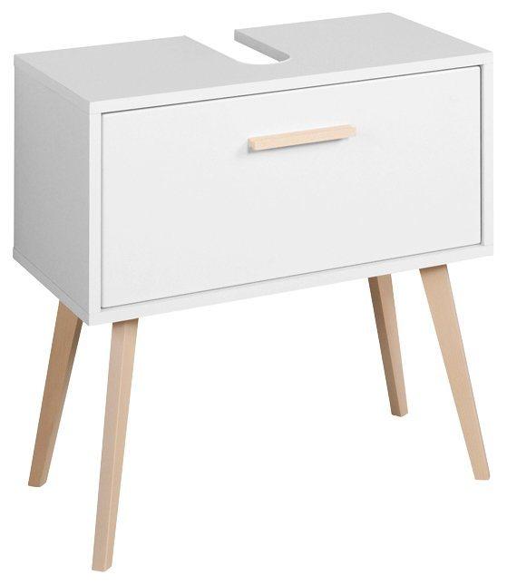 held m bel waschbeckenunterschrank retro breite 60 cm online kaufen otto. Black Bedroom Furniture Sets. Home Design Ideas