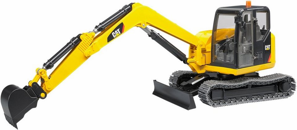 bruder spielzeug bagger 2456 cat minibagger 1 16 gelb online kaufen otto. Black Bedroom Furniture Sets. Home Design Ideas