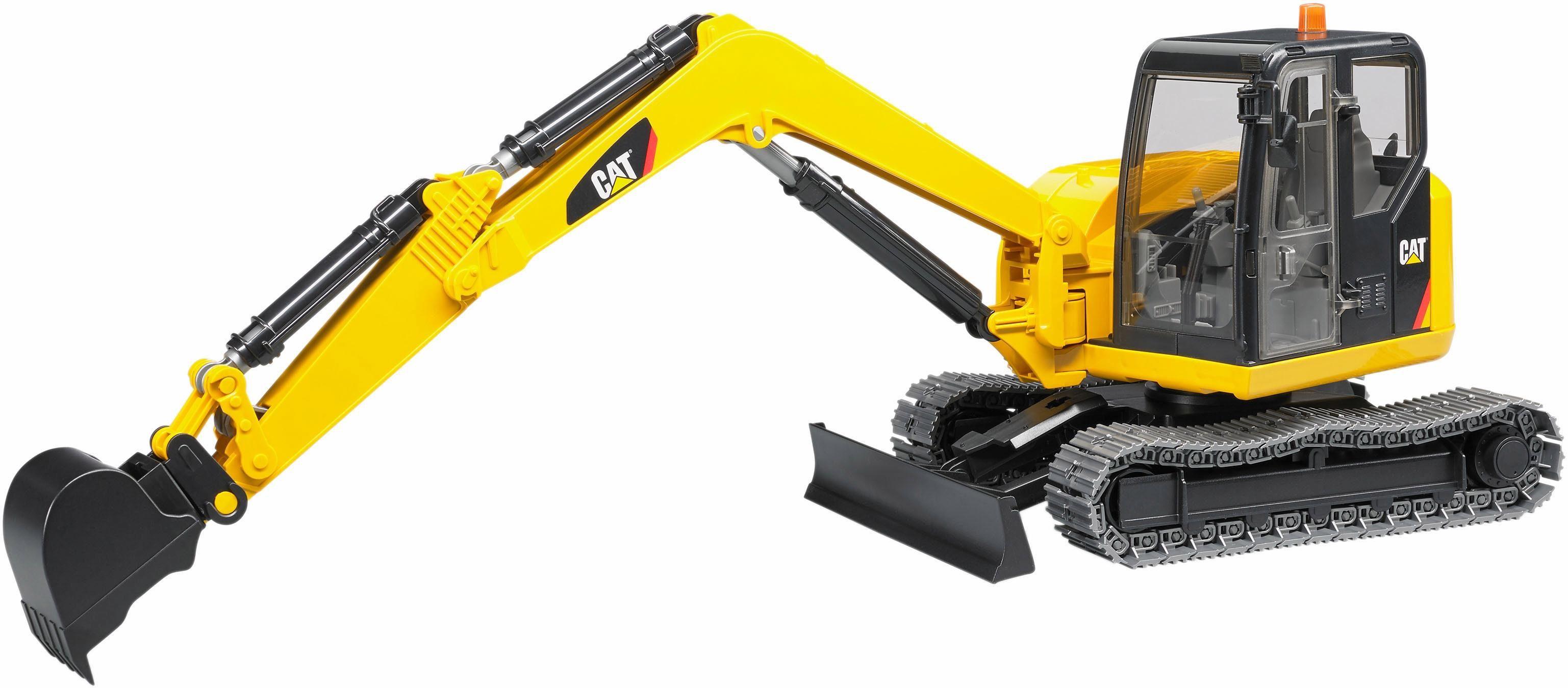 bruder® Spielzeug Bagger 2456, »CAT Minibagger, 1:16, gelb«