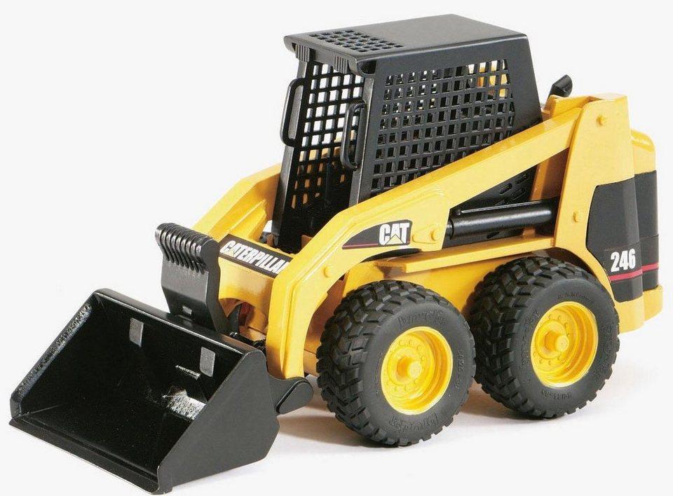 Bruder spielzeug radlader cat kompaktlader gelb