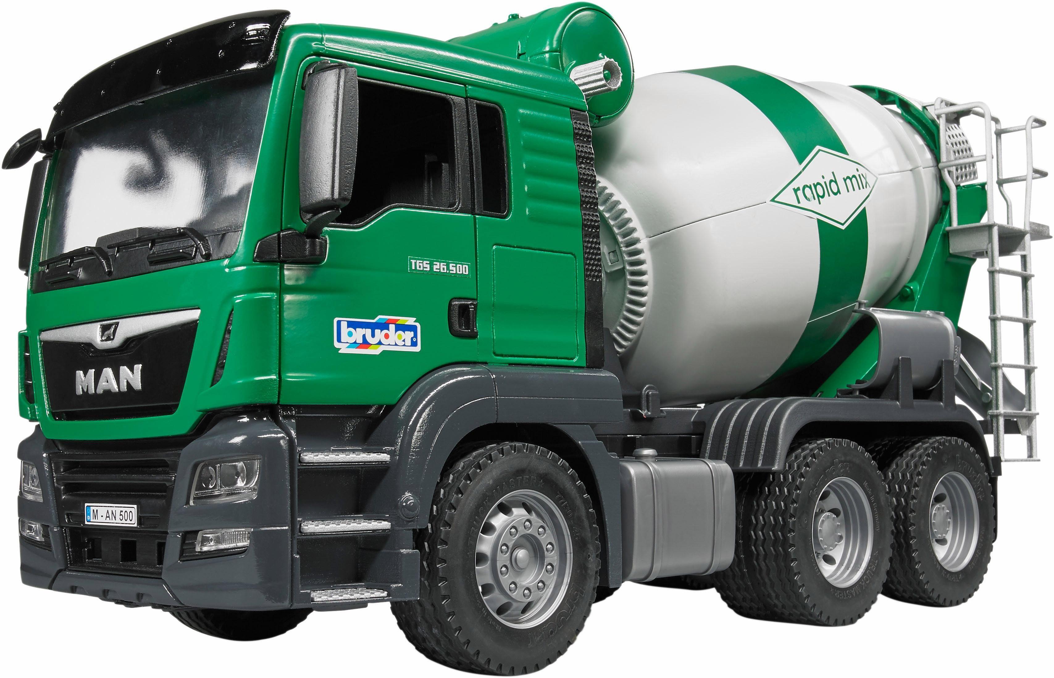 bruder® Spielzeug LKW 3710, »MAN TGS Betonmisch LKW, 1:16, grün«