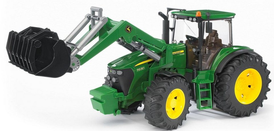 bruder spielzeug traktor john deere 7930 mit frontlader. Black Bedroom Furniture Sets. Home Design Ideas