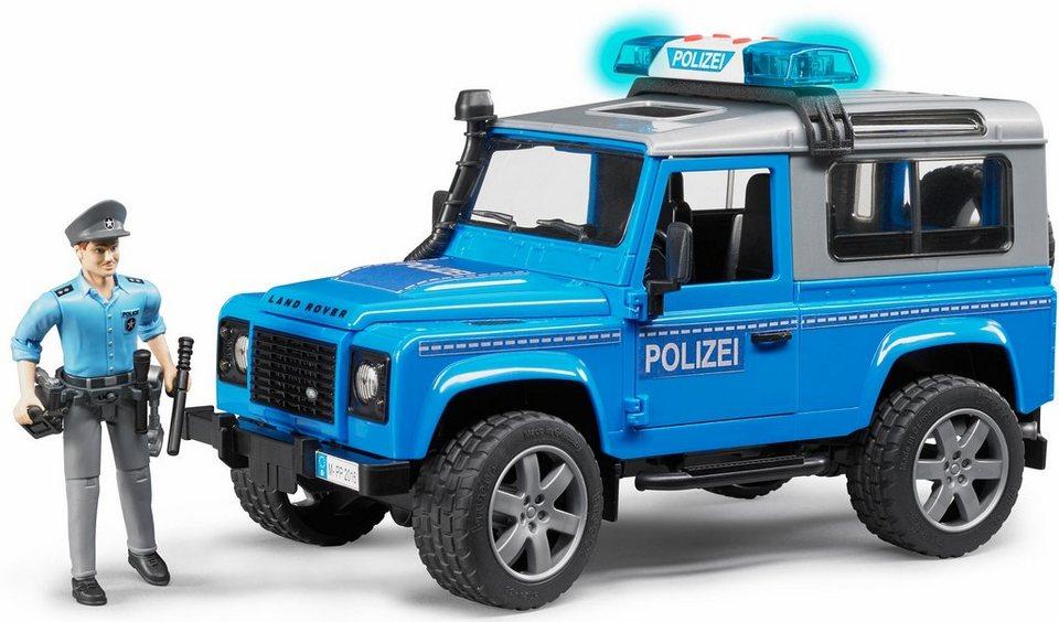 Bruder spielzeug polizeifahrzeug mit licht und sound