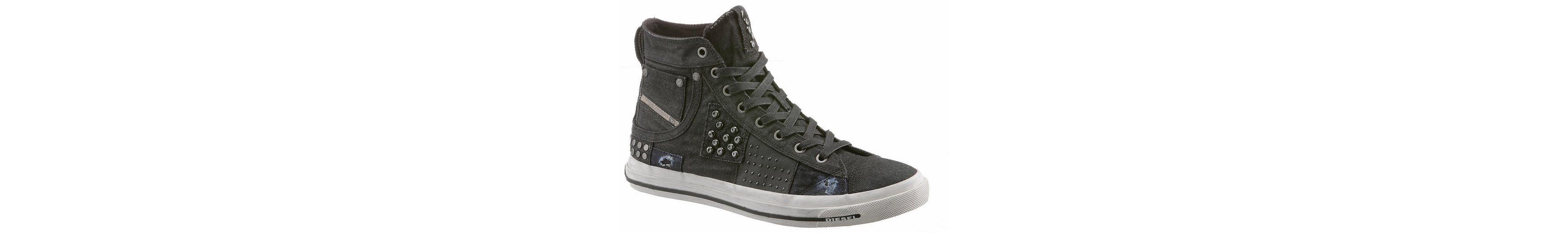 Diesel Exposure I Sneaker, im allover Jeans-Look