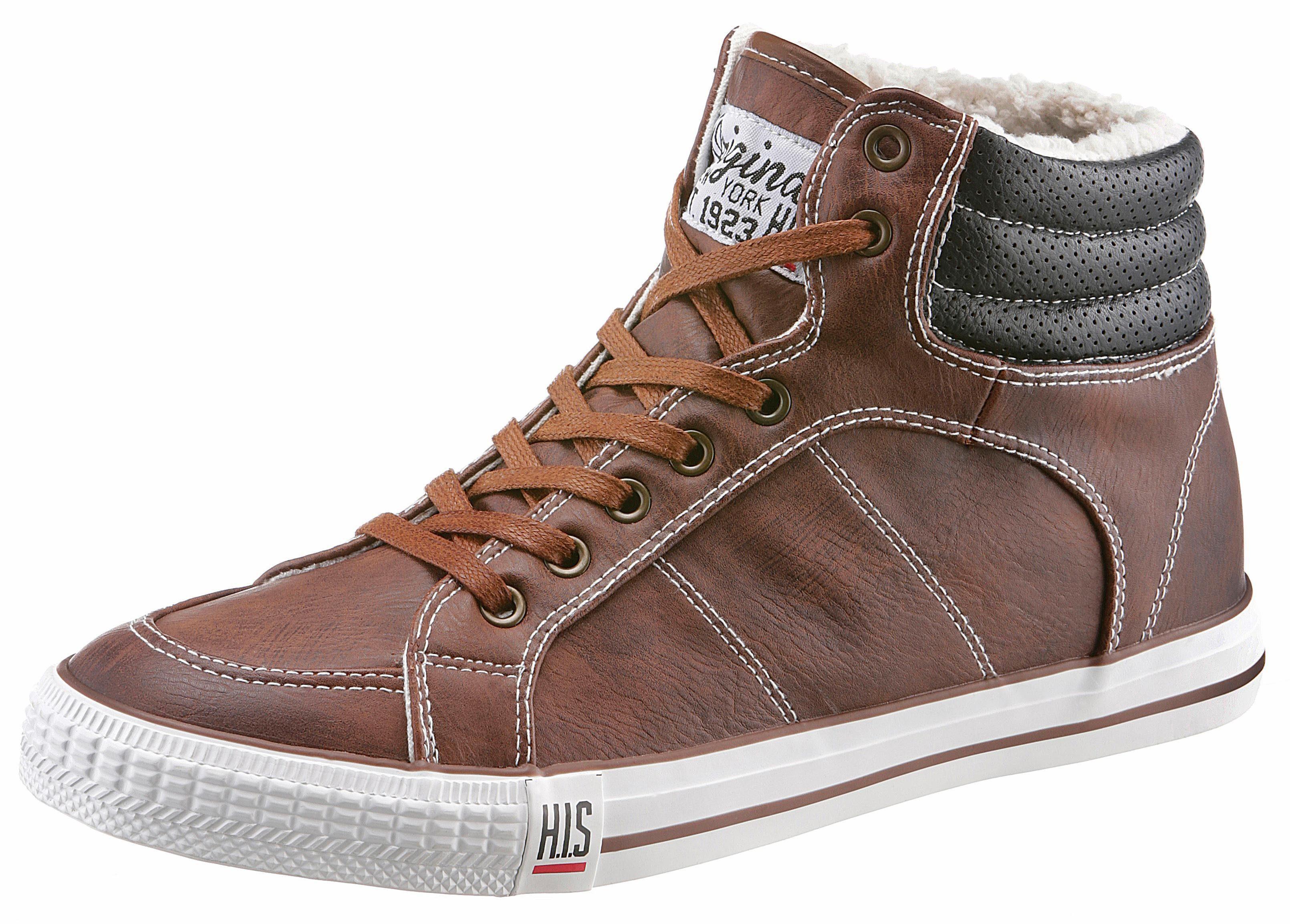 HIS Sneaker, mit Warmfutter online kaufen  braun-used