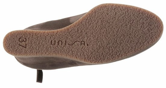 Unisa Stiefelette, in schlichter Optik