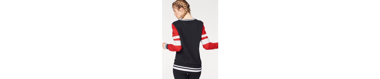 Superdry Sweatshirt COLOUR BLOCK CREW Wählen Sie Eine Beste Billig Verkauf Wirklich Kaufen Sie Günstig Online Limit Rabatt E2QdH2q