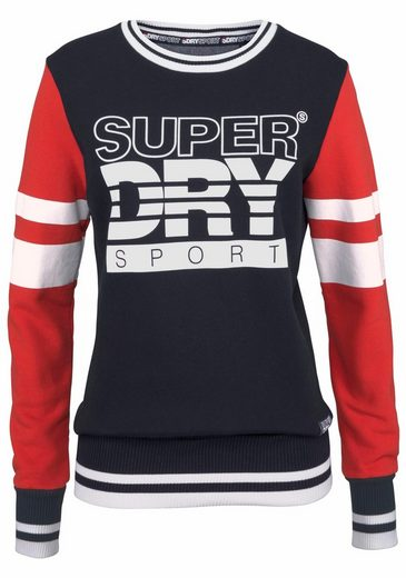 Superdry Sweatshirt COLOUR BLOCK CREW
