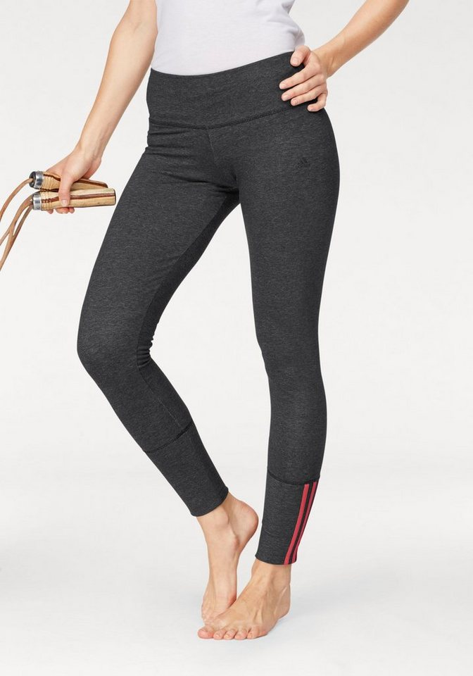 adidas performance leggings essentials mid 3s tight. Black Bedroom Furniture Sets. Home Design Ideas