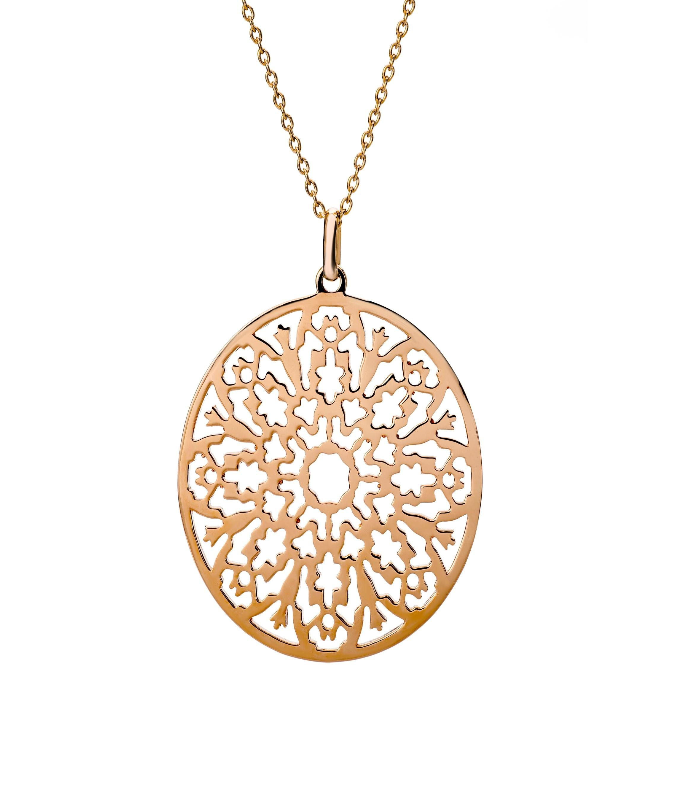 Mejolie Anhänger »Legacy - Silber 925 rosé vergoldet«