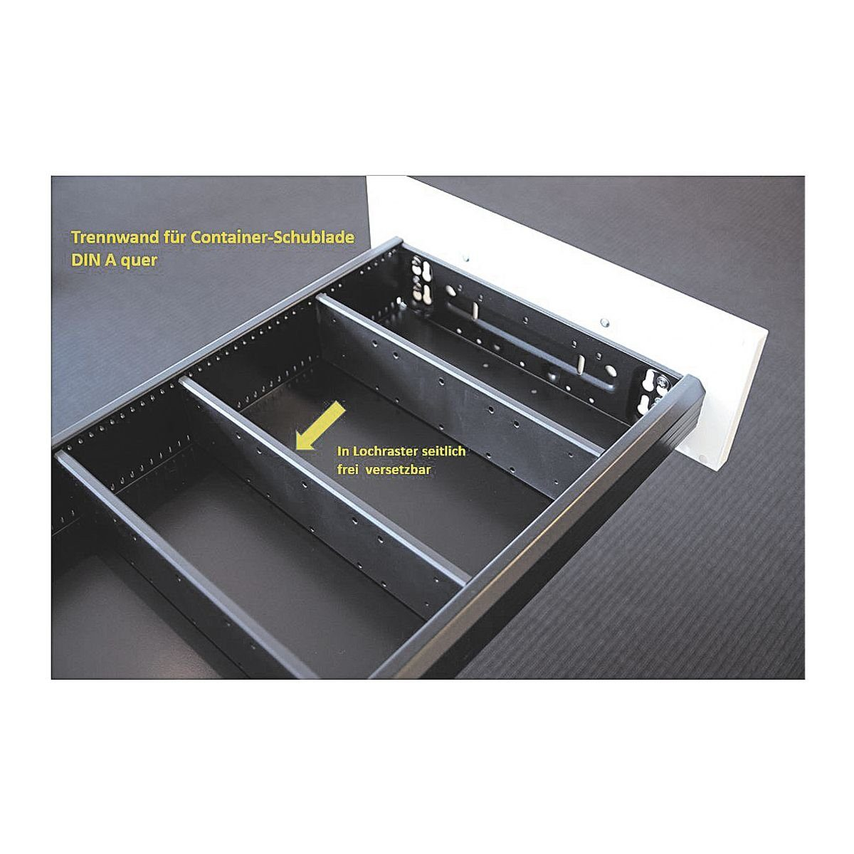 FMBUEROMOEBEL Container-Trennwand »Sidney«