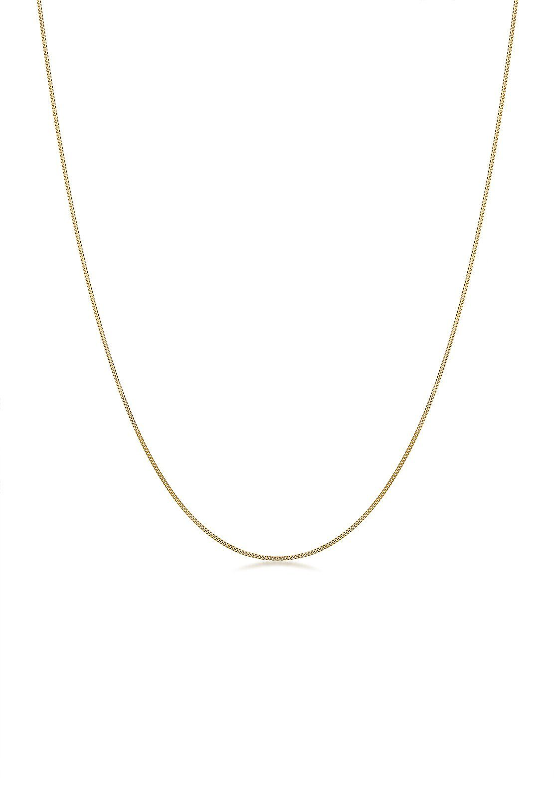 Elli Halskette »Basic-Kette 585 Gelbgold«