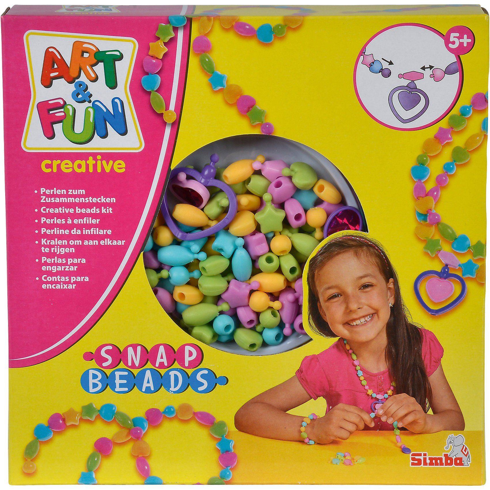 Simba Art & Fun Snap Beads