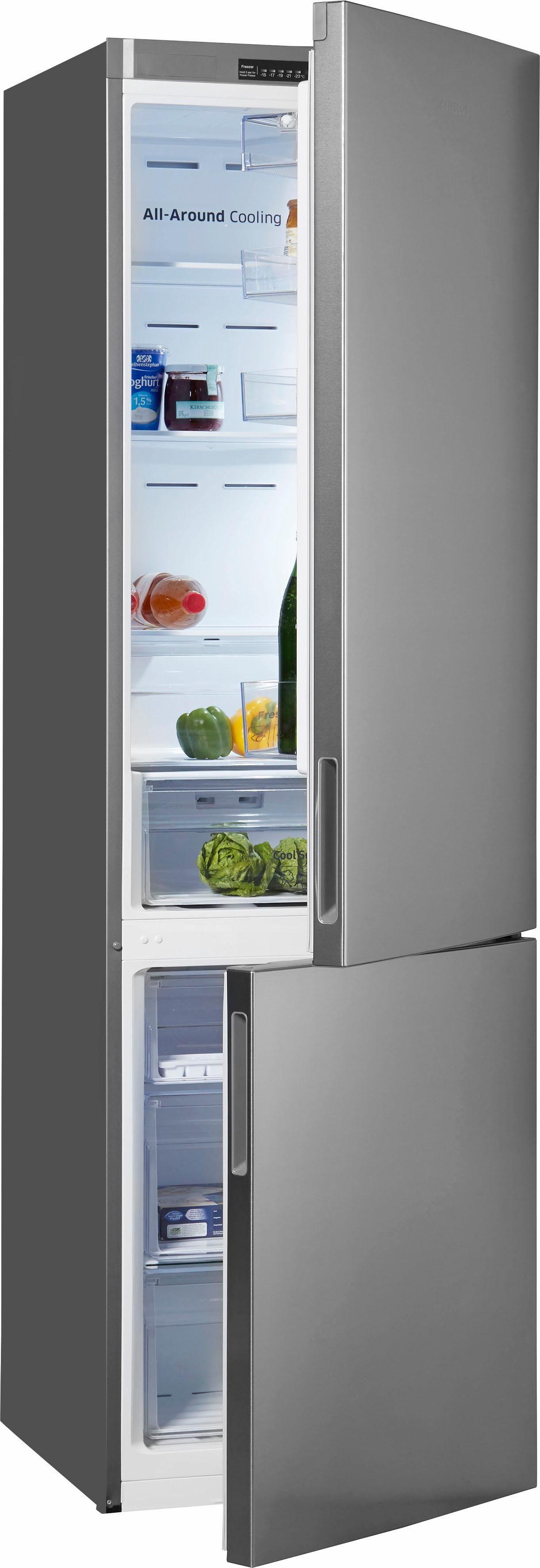 Samsung Kühl-/Gefrierkombination RL37J5007, 201 cm hoch, 59,5 cm breit