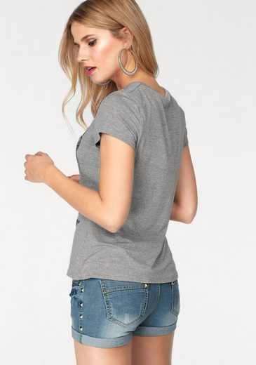 Melrose Print-shirt, Mit Totenkopf-print