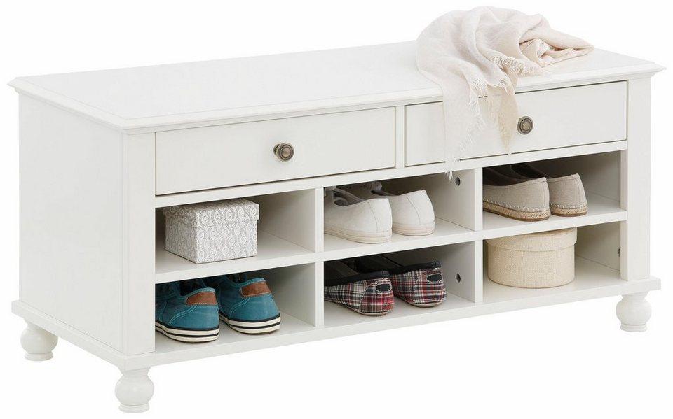 home affaire bank venedig 100 cm breit in weiss oder. Black Bedroom Furniture Sets. Home Design Ideas