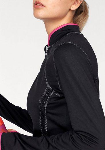 Melrose Trainingsjacke, mit Daumenlöchern