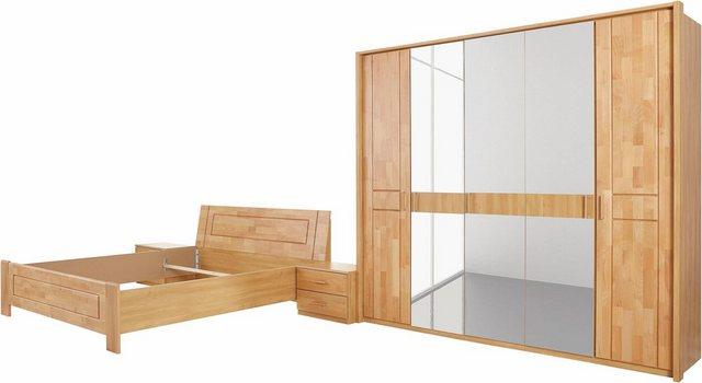 Schlafzimmer Sets - rauch BLACK Schlafzimmer Set »Bramfeld«, (Set, 4 St)  - Onlineshop OTTO