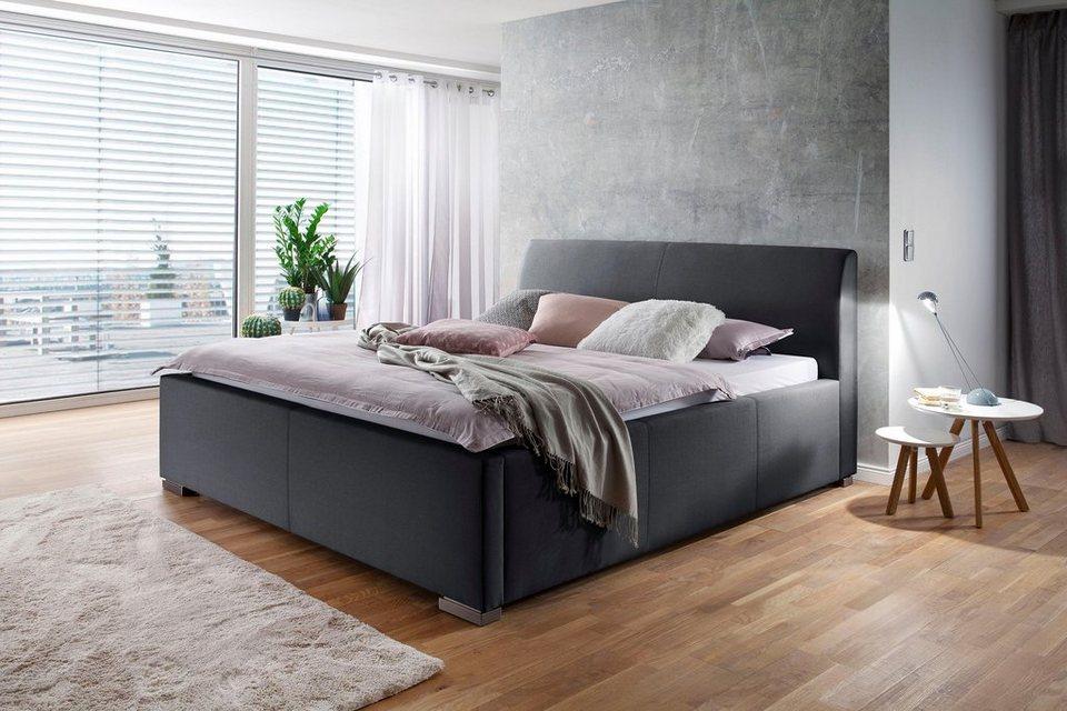 places of style polsterbett la finca wahlweise mit bettkasten in 2 breiten online kaufen otto. Black Bedroom Furniture Sets. Home Design Ideas