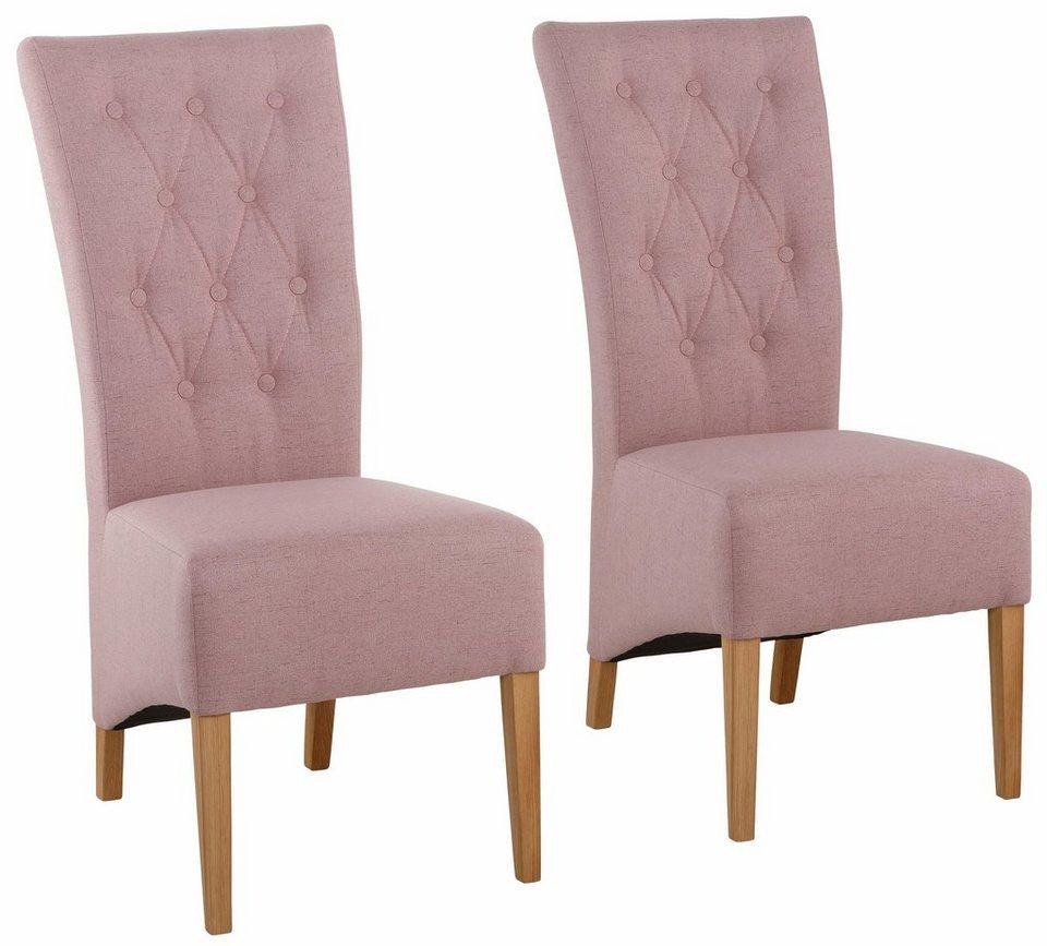 home affaire stuhl nevada im 2er pack mit strukturstoff bezug in 3 farben online kaufen otto. Black Bedroom Furniture Sets. Home Design Ideas