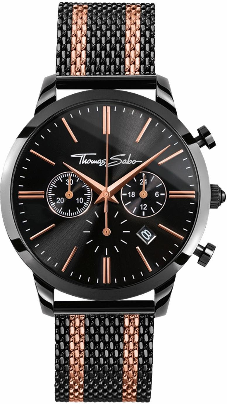 THOMAS SABO Chronograph »REBEL SPIRIT CHRONO, WA0289-285-203«