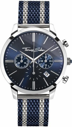 THOMAS SABO Chronograph »REBEL SPIRIT CHRONO, WA0285-281-209«