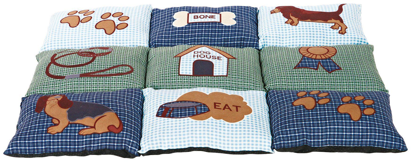 HEIM Hunde-Decke »Patchwork«, BxL: 55x80 cm, gesteppt, grün