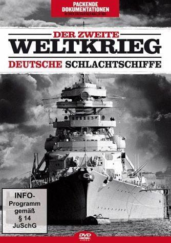 DVD »Der Zweite Weltkrieg: Deutsche Schlachtschiffe«