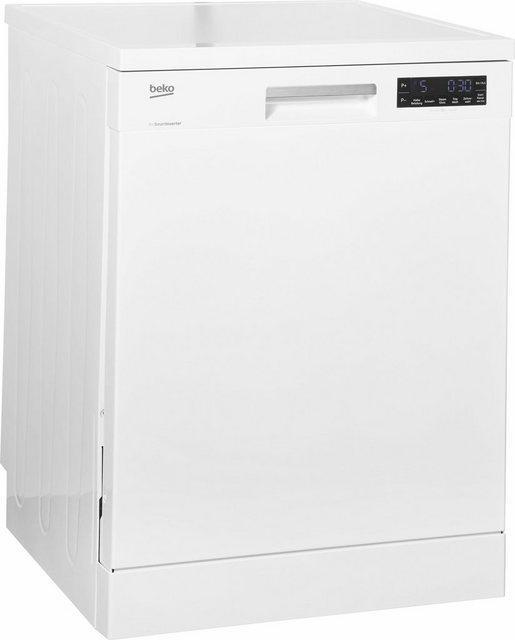 Küchengroßgeräte - BEKO Standgeschirrspüler, DFN26420W, 14 Maßgedecke, mit Energiesparfunktion ECO  - Onlineshop OTTO