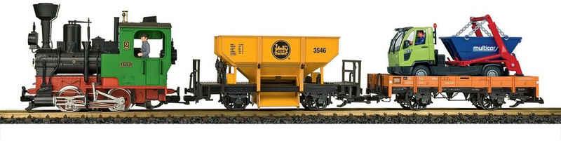 LGB Modelleisenbahn-Set »LGB Startset Güterzug 230 Volt - 70403«, Spur G