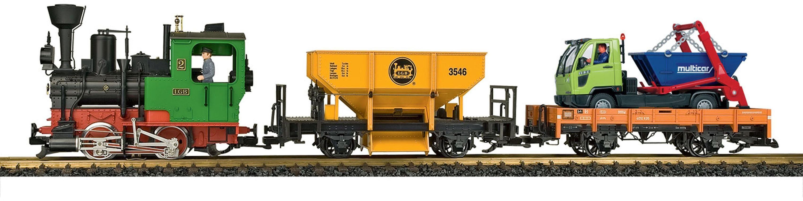 LGB Märklin Einsteigerset Gartenlokomotive mit Sound, »LGB Startset Güterzug 230 Volt«