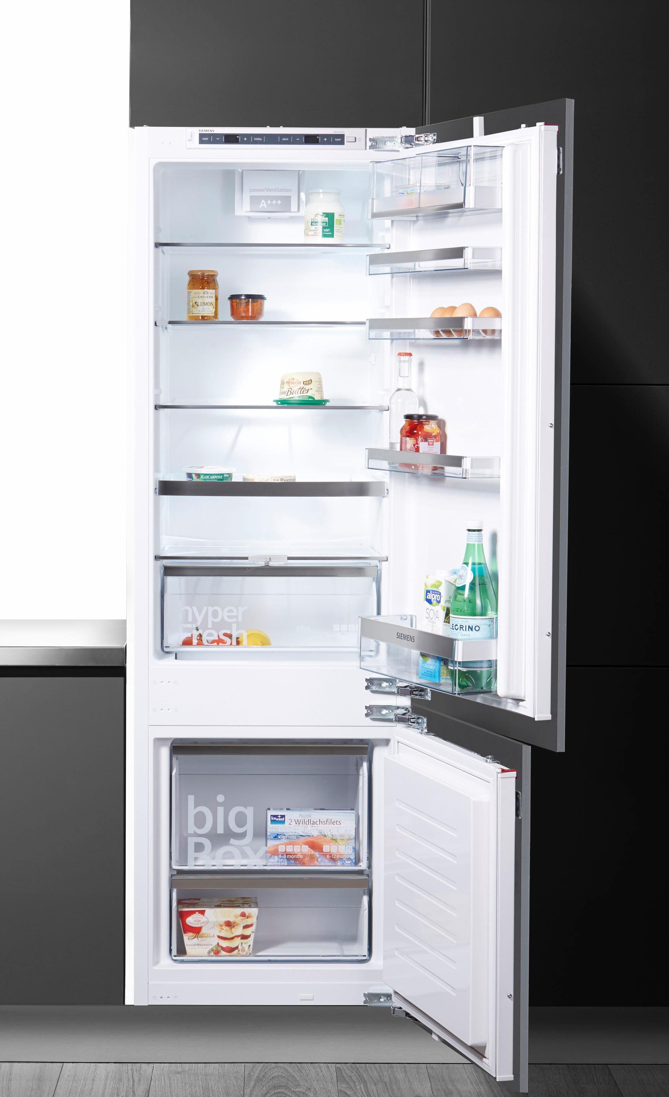 SIEMENS Einbaukühlgefrierkombination KI87SAD40, 177,2 cm hoch, 54,5 cm breit, Energieeffizienzklasse: A+++, 177,2 cm hoch, LowFrost