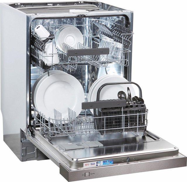 Küchengroßgeräte - AEG teilintegrierbarer Geschirrspüler, FEB52610ZM, 9,9 l, 13 Maßgedecke  - Onlineshop OTTO