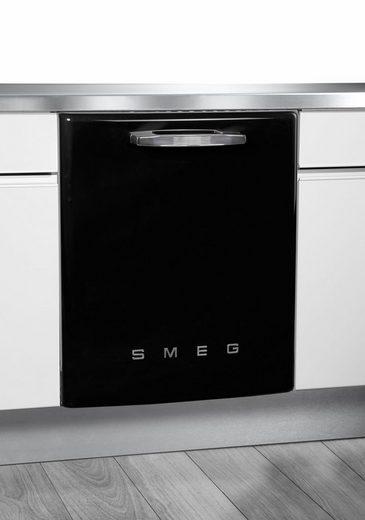 Smeg vollintegrierbarer Geschirrspüler, ST2FABBL, 8,5 l, 13 Maßgedecke
