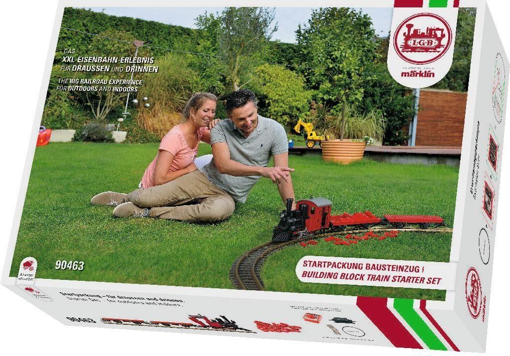 Märklin Einsteigerset Gartenlokomotive, »LGB Startset Bausteinzug 230 Volt«