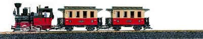 LGB Märklin Einsteigerset Gartenlokomotive mit Sound, »LGB Startset Personenzug 230 Volt«