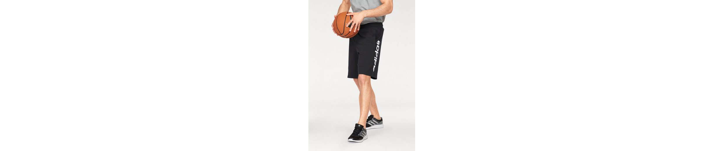 adidas Performance Shorts ESSENTIALS LINEAR SINGLE JERSEY SHORT