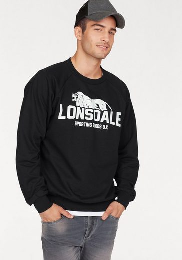 Lonsdale Sweatshirt, Raglanärmel