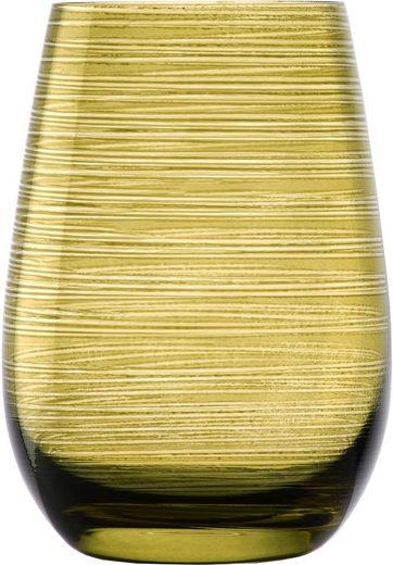 Stölzle Becher »TWISTER« (6-tlg), Glas