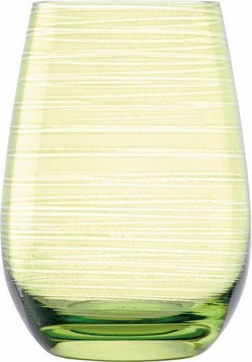 Stölzle Becher »TWISTER«, Glas, 6-teilig