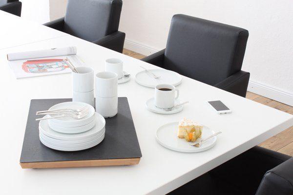 Friesland Kaffee-Service 18tlg. »Life Revival Weiß«